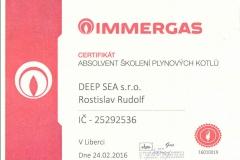 Immergas certifikat1